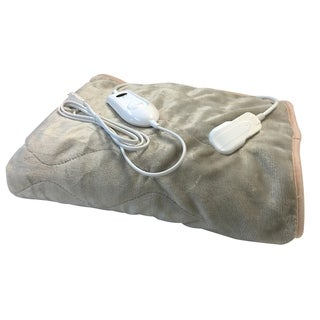 Microplush Heated Throw Blanket
