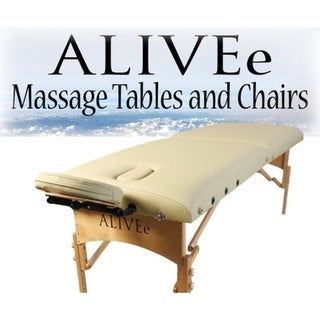 ALIVEe Signature II Cream Light Massage Table