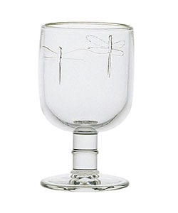 La Rochere 6-piece Dragonfly Footed Goblet Set