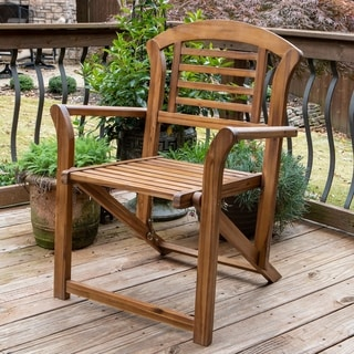 Fenton Outdoor Folding Arm Chair