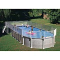 Above Ground End Deck (For 15 x 30 Oval Pool)