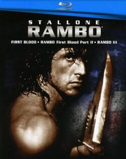 Rambo 1-3 Boxset (Blu-ray Disc)