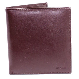 Kozmic Brown Leather Bi-fold Wallet