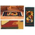 Mexican 'Fish Fiesta' Zapotec Wool Rug (2' x 3'3)