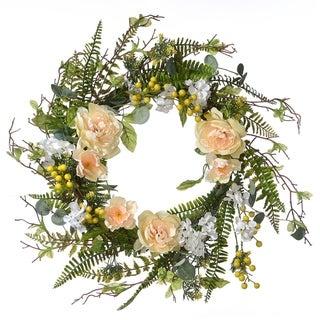 "20"" Spring Flowers Wreath"