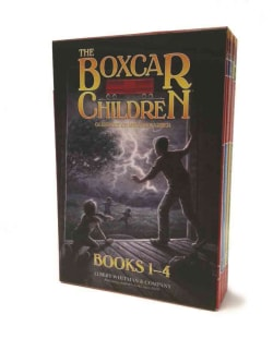 The Boxcar Children Mysteries: The Boxcar Children, Surprise Island, the Yellow House Mystery, & Mystery Ranch (Paperback)