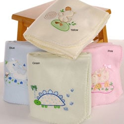 Fleece Baby Blankets (Set of 2)