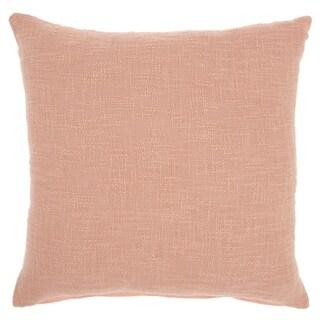 "Mina Victory Life Styles Blush Throw Pillow, (18"" x 18"")"
