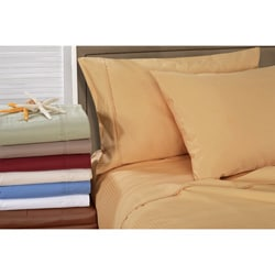 Egyptian Cotton 1000 Thread Count Striped Pillowcase Set