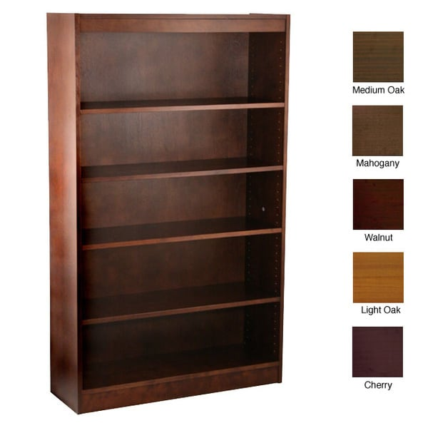 Ergocraft Laguna 5-shelf Wood Veneer Bookcase