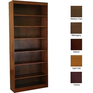 Ergocraft Laguna 7-shelf Wood Veneer Bookcase