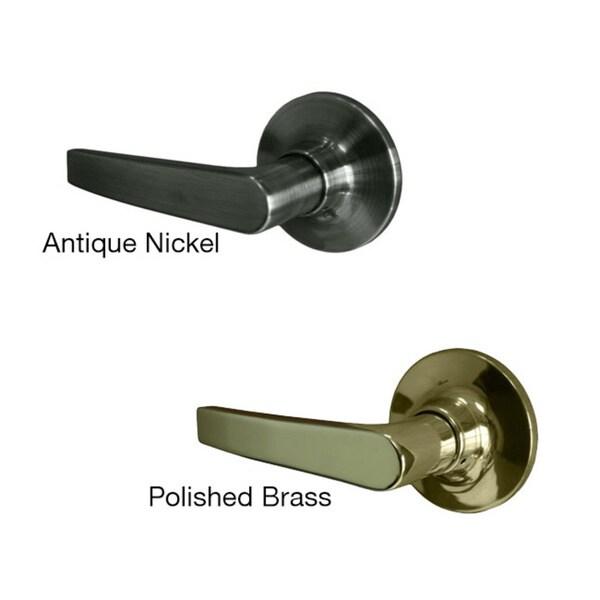 Sure-Loc Cedar Privacy Door Lever (2 complete sets)