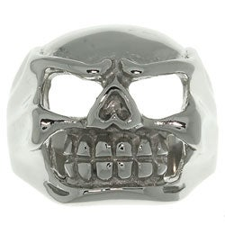 CGC Stainless Steel Large Skull Ring