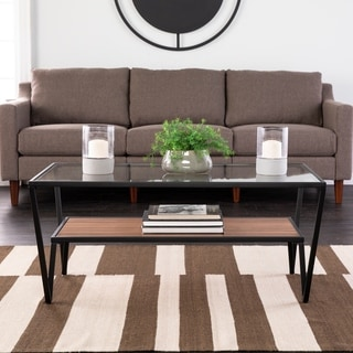 Holly & Martin Vickdale Geometric Rectangle Coffee Table