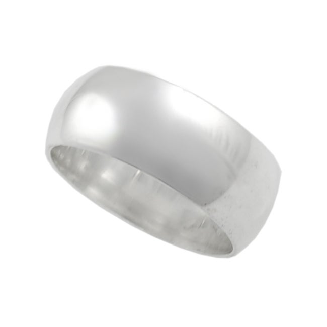 Journee Collection Plain Sterling Silver Ring