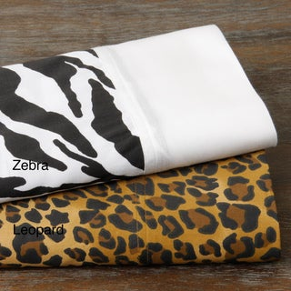 Regal Animal 300 Thread Count Cotton Sheet Set
