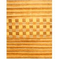Hand-knotted Blue Vista Wool Rug (8' x 10')
