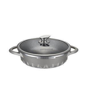 ARTMARTIN Sauce Pan & Glass Lid Non-Stick Ceramic Coated Pot - 11 in