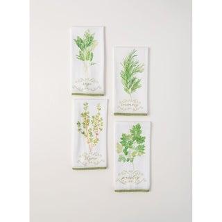 Herb Tea Towels - Set of 4