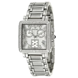 Bulova Women's 96R000 Stainless Steel Diamond Watch