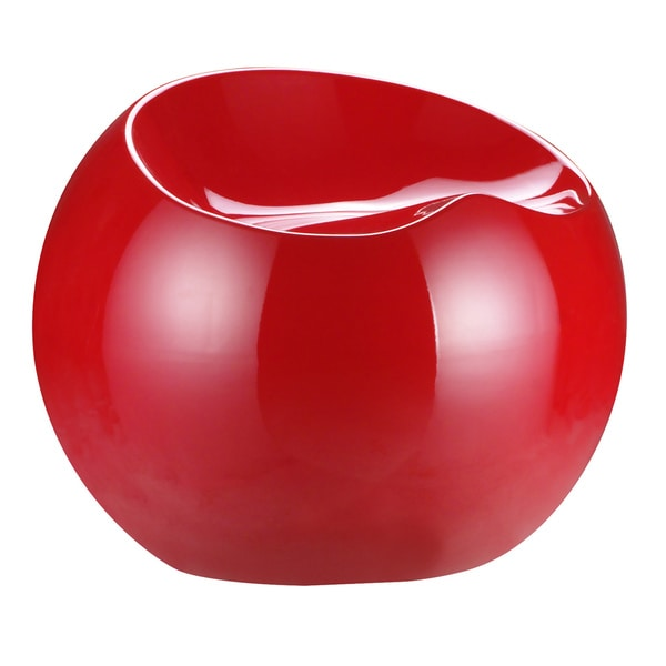 Red Ball Stool