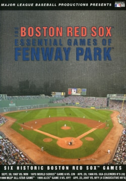 The Boston Red Sox Essential Games Of Fenway Park (DVD)