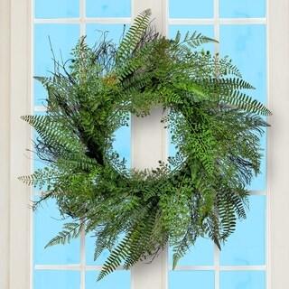 """Fern Wreath 26"""""""