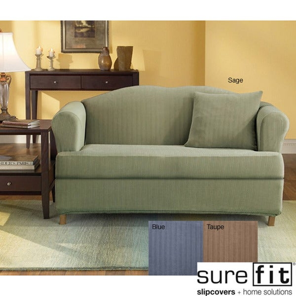 Overstock Shopping  Big Discounts on Sure Fit Sofa Slipcovers