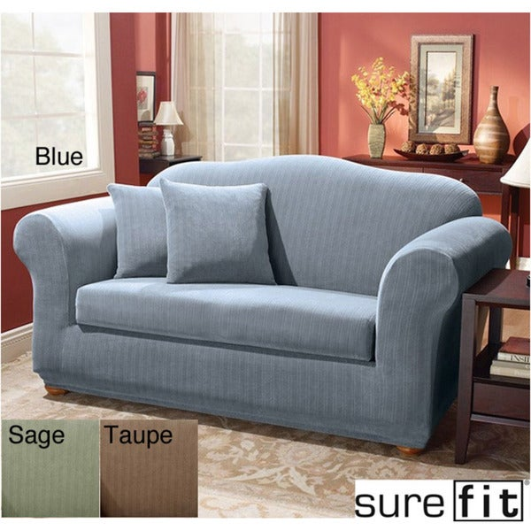 Sure Fit Stretch Stripe 2 piece Loveseat Slipcover : Sure Fit Stretch Stripe 2 piece Loveseat Slipcover 5fbe9f35 9a4b 4c9d a322 7677939833d3600 from www.houseandhome2.com size 600 x 600 jpeg 60kB