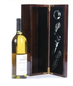 Piano Varnish 4-piece Wine Accesory Box