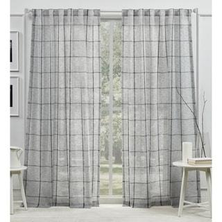 Lauren Ralph Lauren Rubin Sheer Back Tab Rod Pocket Curtain Panel