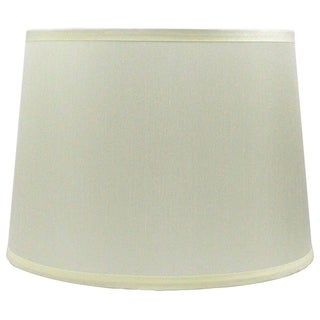 French Drum Lamp Shade, 12 inch Top, 14 inch Bottom, 10 inch Slant