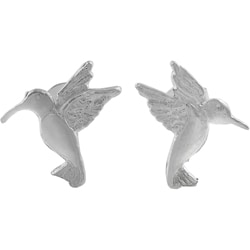 Tressa Sterling Silver Hummingbird Stud Earrings