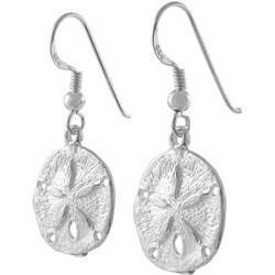 Tressa Sterling Silver Dangling Sand Dollar Earring
