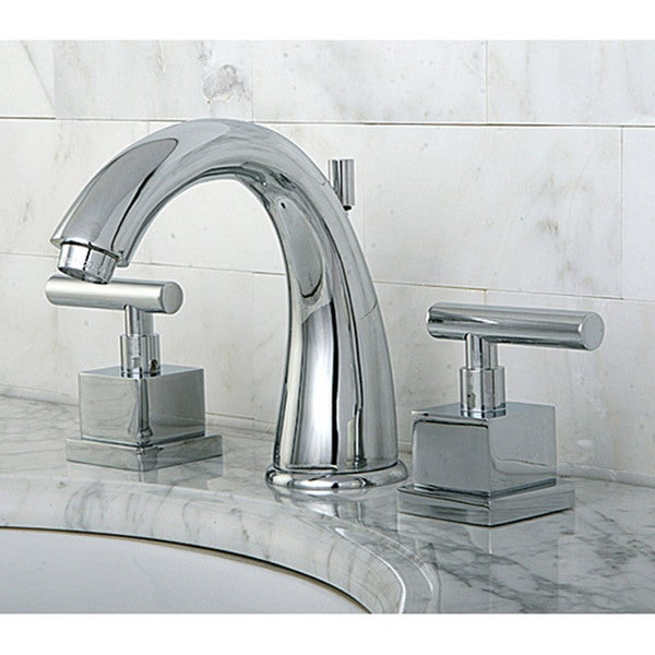 Claremont Widespread Chrome Bathroom Faucet