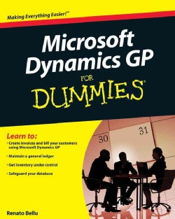 Microsoft Dynamics GP For Dummies (Paperback)