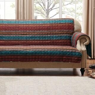 Porch & Den Parnell Stripe Pattern Reversible Sofa Protector