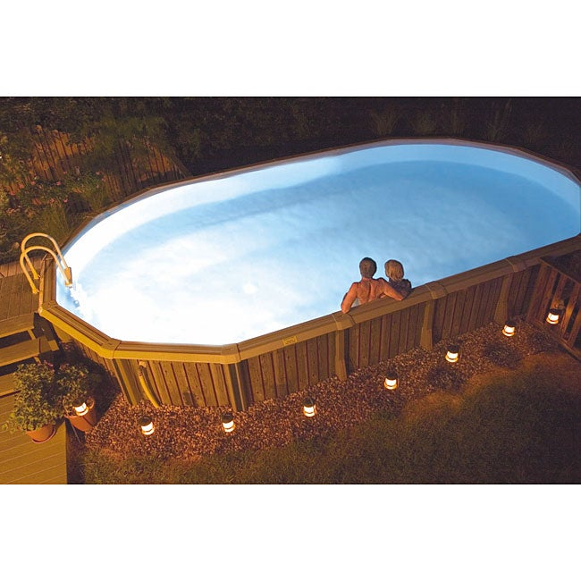 smartpool multicolored nitelighter for above ground pools. Black Bedroom Furniture Sets. Home Design Ideas