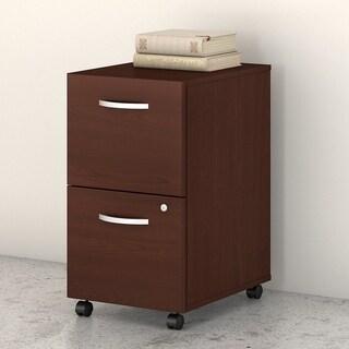 Studio C 2 Drawer Mobile File Cabinet by Bush Business Furniture