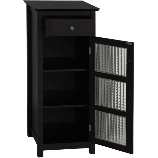 windham floor cabinet with door and drawer by elegant home