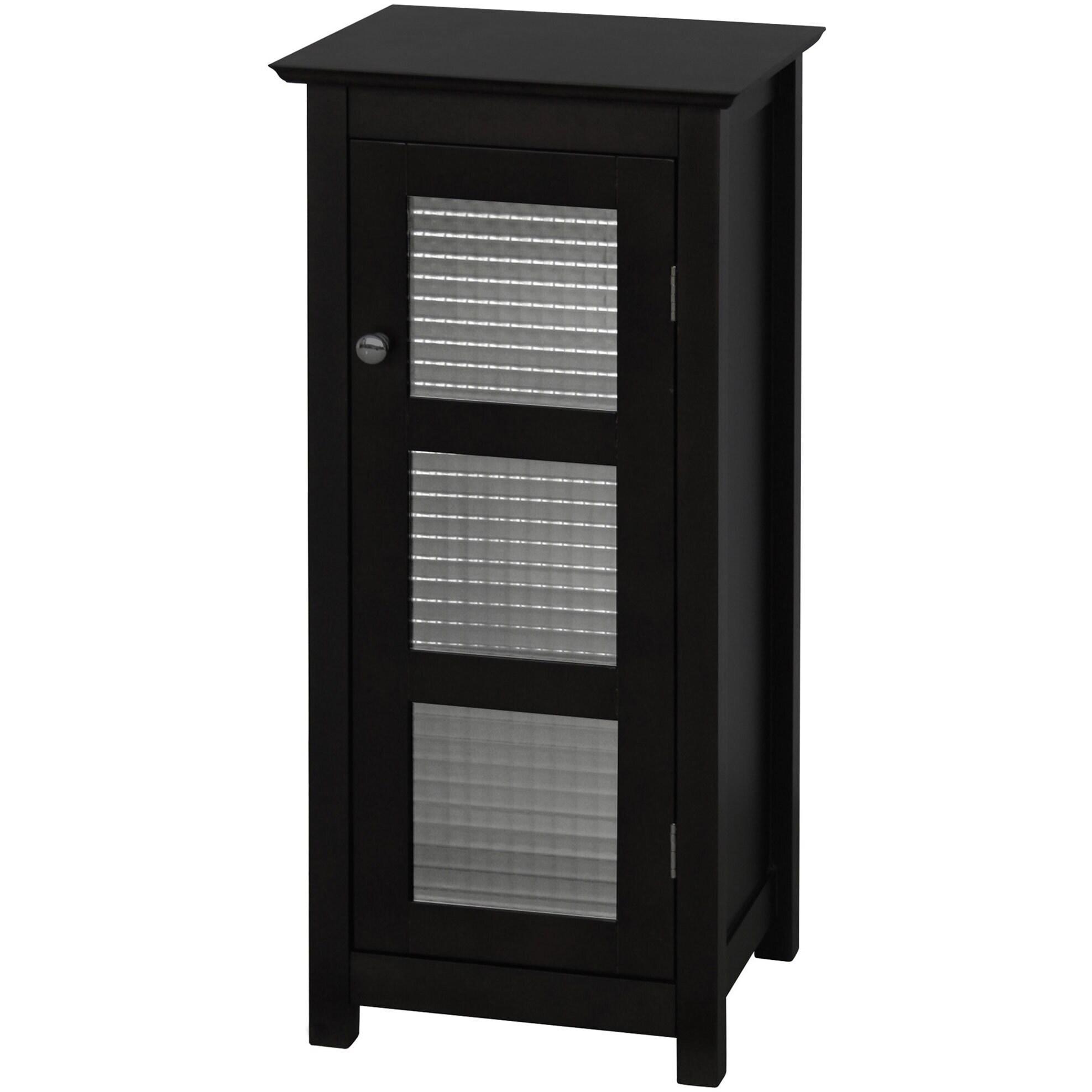 Windham Floor Cabinet With Glass Door Overstock Shopping Great Deals On Softline Bathroom