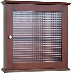 Windham Medicine Cabinet with Glass Door by Elegant Home Fashions
