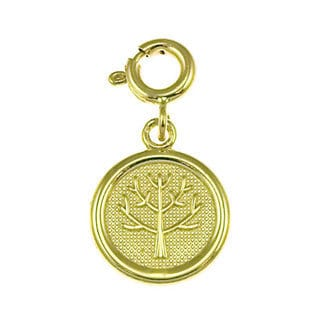14k Yellow Gold Seven Wishes 'Long Life' Charm