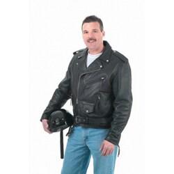 Legend Men's Motorcycle Leather Jacket