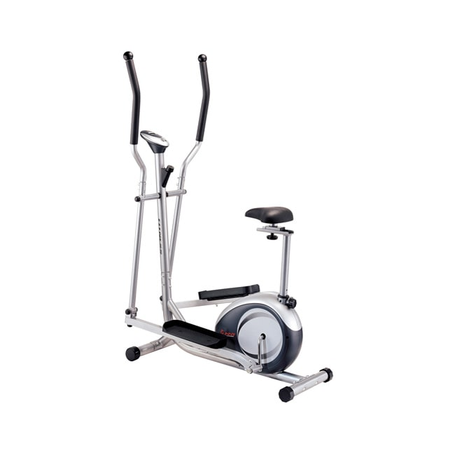Sunny Health&Fitness 2-in-1 Elliptical and Upright Exercise Machine at Sears.com
