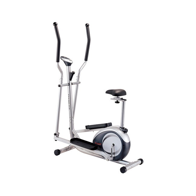 2-in-1 Elliptical and Upright Exercise Machine