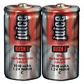 Rechargeable Size C NiMH Batteries (2-pack)
