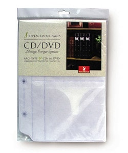 Large CD/ DVD Binder Inserts