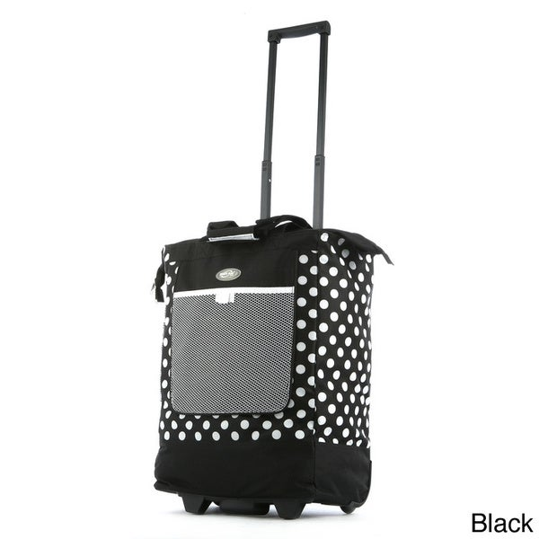 Olympia Polka Dots Rolling Shopper Tote
