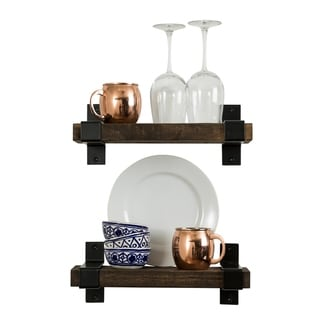 Del Hutson Designs Industrial Grace Bracket Shelf